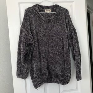 LISTICLE CHENILLE SWEATER